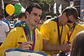 Unidentified Australian Olympic athletes (MG 9014).jpg