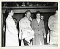 Unidentified women with actor and musician Vaughn Monroe (12462083205).jpg