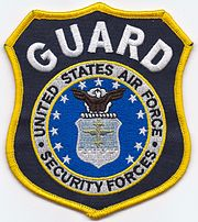 United States Air Force Security Forces Guard Patch