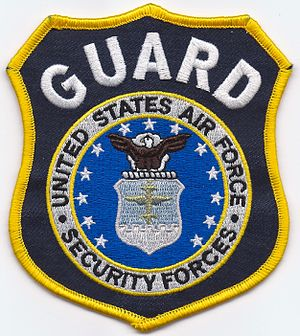 Department of the Air Force Police - United States Air Force Security Forces GUARD Patch
