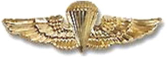 Carl Epting Mundy Jr. - Image: United States Navy Parachutist Badge
