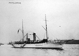 USS Mayflower (PY-1) - Presidential yacht Mayflower in 1912
