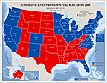 United States presidential election 2008, results by state, November 19, 2008 LOC 2008626951.jpg