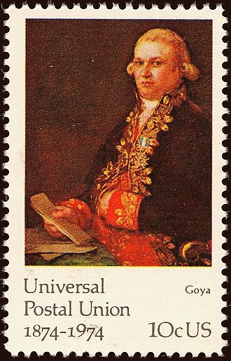 Universal Postal Union - 100 years of UPU commemorated on a US postage stamp