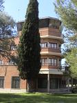Universidad de Alcalá (RPS 23-09-2007) antigua torre de control del Aeródromo Barberán y Collar.png