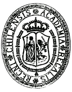 Royal University of San Felipe - Seal of the University