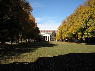 University of Nevada, Reno - View of the Quad, looking north