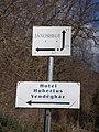 Unusual street sign and guesthouse sign, Jánoshegy neighborhood, 2020 Zebegény.jpg