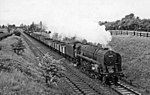 A freight train on the Great Central near Braunston and Willoughby in 1958