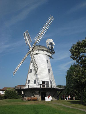 Upminster Windmill - Image: Upminster mill 150912