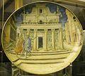 Urbino, francesco durantino, piatto con enea a cartagine, 1545.JPG