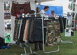 The Utilikilt™ booth at the 2004 Skagit Valley Highland Games.