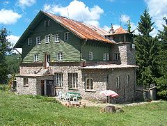 Uzana mountain chalet is a budget accommodation at the resort