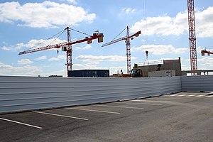 Vélodrome de Saint-Quentin-en-Yvelines en construction en septembre 2012 - 2.jpg