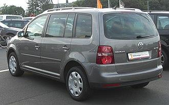 Volkswagen Touran - 2006 facelift
