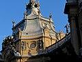 Vajdahunyad castle, Baroque wing detail, 2013 Budapest (355) (13227816513).jpg
