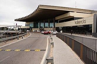Valencia Airport - Image: Valencia Airport Terminal