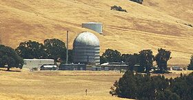Reaktorgebäude der Anlage