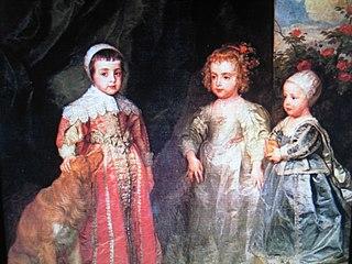 Portrait of Three Children of Charles 1
