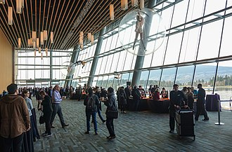 Vancouver Convention Centre - West Building interior