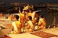 Varanasi, India, Hindu religious ceremony.jpg
