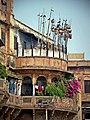 Varanasi 109 - Ganga Mahal (II) balcony (45193996895).jpg