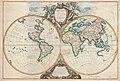 Vaugondy, Gilles Robert De — Orbis Vetus in utraque continente juxta mentem Sansonianam distinctus, nec non observationibus astonimicis redactus 1752.jpg