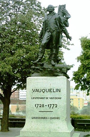 Vauquelin Square - The monument to Jean Vauquelin