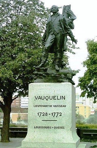 Vauquelin Square - The monument to Jean Vauquelin