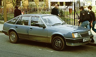 Vauxhall Cavalier - An early Mark II