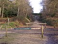 Vehicle crossing point, Setthorns Caravan Site, New Forest - geograph.org.uk - 305603.jpg