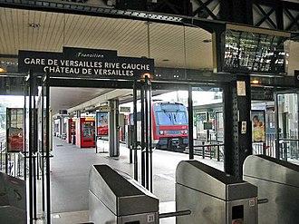 Versailles-Château–Rive Gauche station - Image: Versailles Rive gauche 01