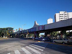 Viaducto Presidente Perón desde el norte.JPG