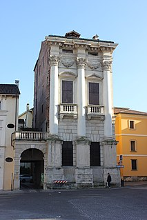 building in Vicenza, Italy