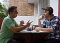Victor Grigas Interviewing pt user aerolitz São Paulo March 2012-21.jpg