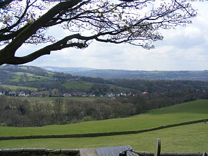 Mellor, Greater Manchester - Image: View of Mellor 2008