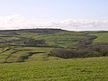View southwest from the Kingston Russell stone circle towards Abbotsbury Castle - geograph.org.uk - 25060.jpg