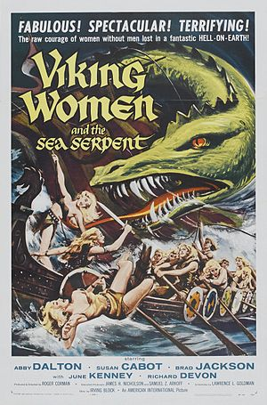 Robert Kinoshita - Poster of the film The Saga of the Viking Women and Their Voyage to the Waters of the Great Sea Serpent