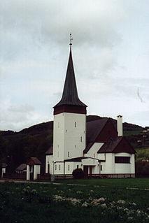 Vikebygd Church Church in Rogaland, Norway