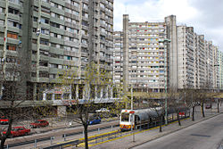 The General Manuel Savio Housing Complex, one of the largest public housing works in Latin America
