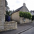 Village notice board and postbox, Ampney St Peter, Gloucestershire (1).jpg