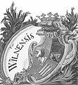 Vilnia, Pahonia. Вільня, Пагоня (1720).jpg