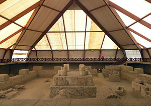 Viminacium - Ruins of the mausoleum at Viminacium