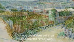 File:Vincent van Gogh in Paris Montmartre.webm