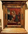 Vincenzo foppa (bottega), sacra famiglia in adorazione del bambino, 1475 ca..JPG