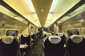 Virgin Trains - First Class aboard a Class 390 Pendolino