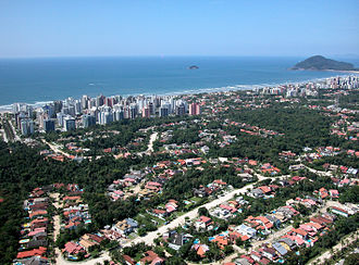Bertioga - Image: Vista da Riviera