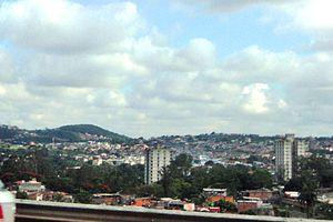 Betim - Image: Vista parcial de Betim MG
