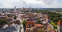 Vistas panorámicas desde la iglesia de San Olaf, Tallinn, Estonia, 2012-08-05, DD 01.JPG