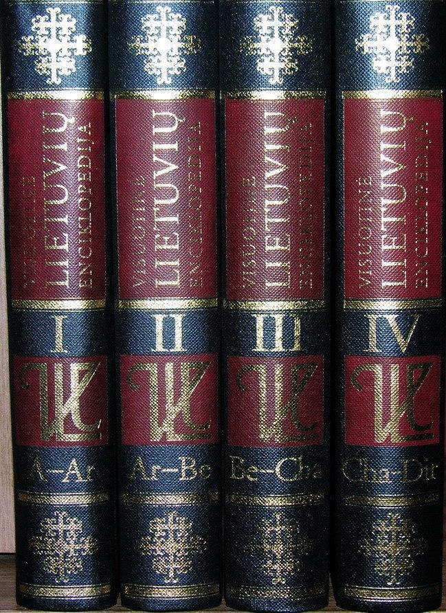 Visuotine lietuviu enciklopedija.General Lithuanian Encyclopedia.4Vol